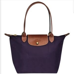 LONGCHAMP LARGE LE PLIAGE Tote in Eggplant